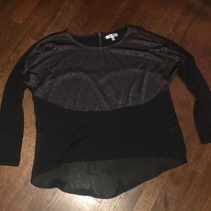 Gently used sparkly Jennifer Lopez blouse